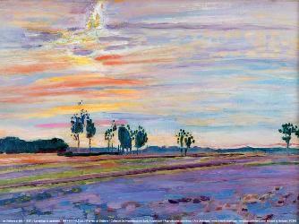 Jan Sluijters, Landschap in te