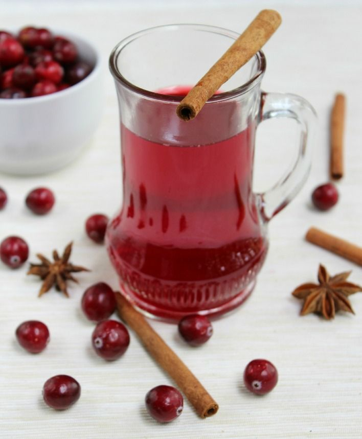 You can make 2 drinks using this recipe - cranberry punch for kids and cranberry mulled wine for adults. Both are delicious healthy winter drinks.