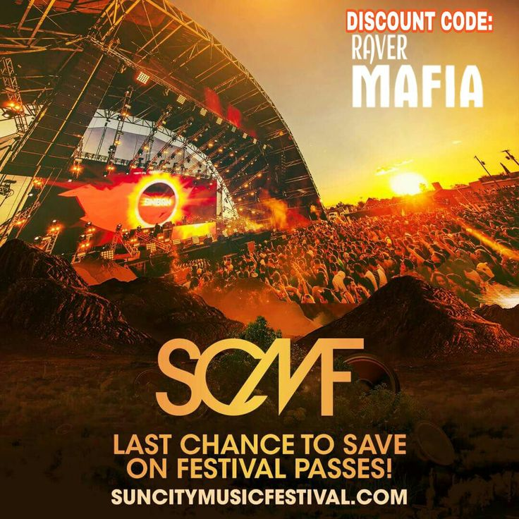 Last Chance to SAVE $ on your #SUNCITYMUSICFESTIVAL TICKETS! Don't get stuck paying increased prices at the gates this weekend! Discount Code: RAVERMAFIA www.suncitymusicfestival.com  #rave #ravers #scmf17 #festival #musicfestival #texasravers #texasEDM #ravefestival #edmfestival #rave #ravers #universalravers #usaEDMfamily #discount #promoter #discodonnie #ravermafia #tomorrowland #somethingwicked