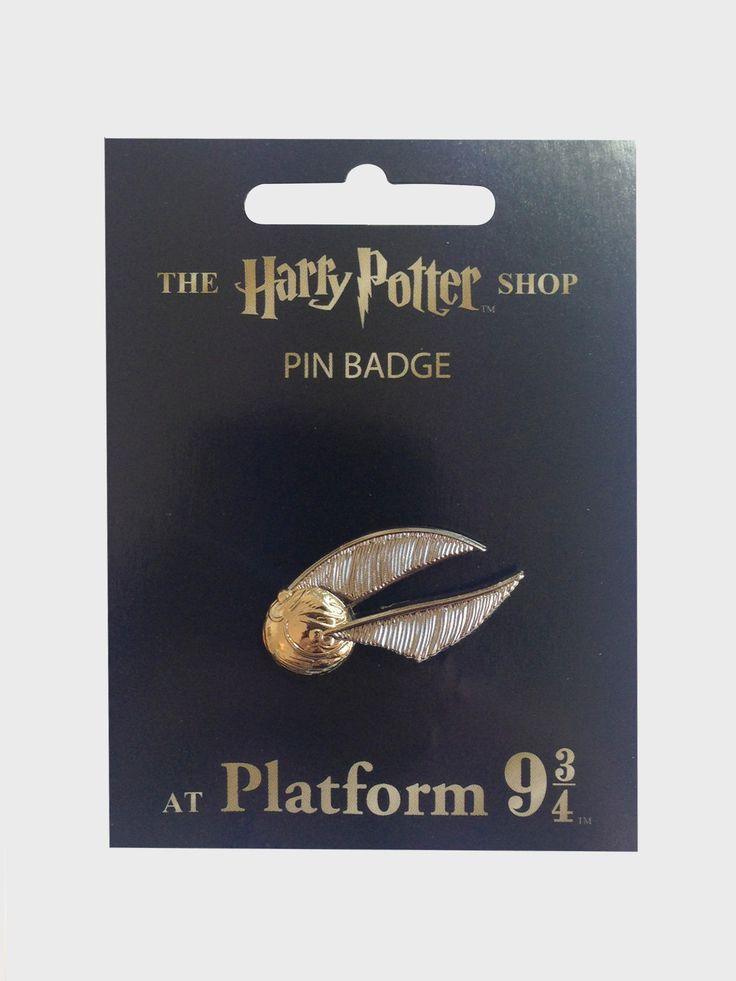 Golden Snitch Pin Badge | The Harry Potter Shop at Platform 9 3/4
