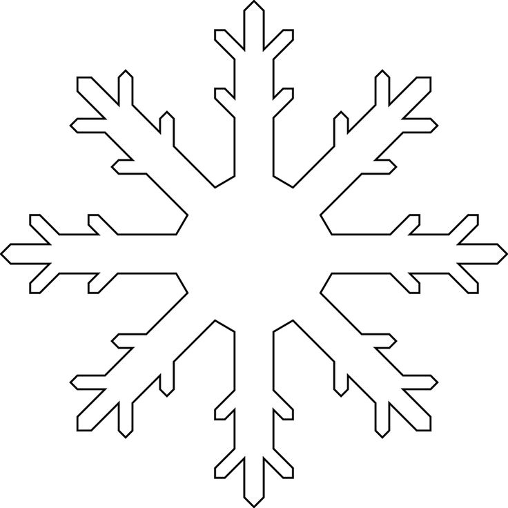 26 best Snowflakes images on Pinterest Paper snowflakes, Winter - snowflake template