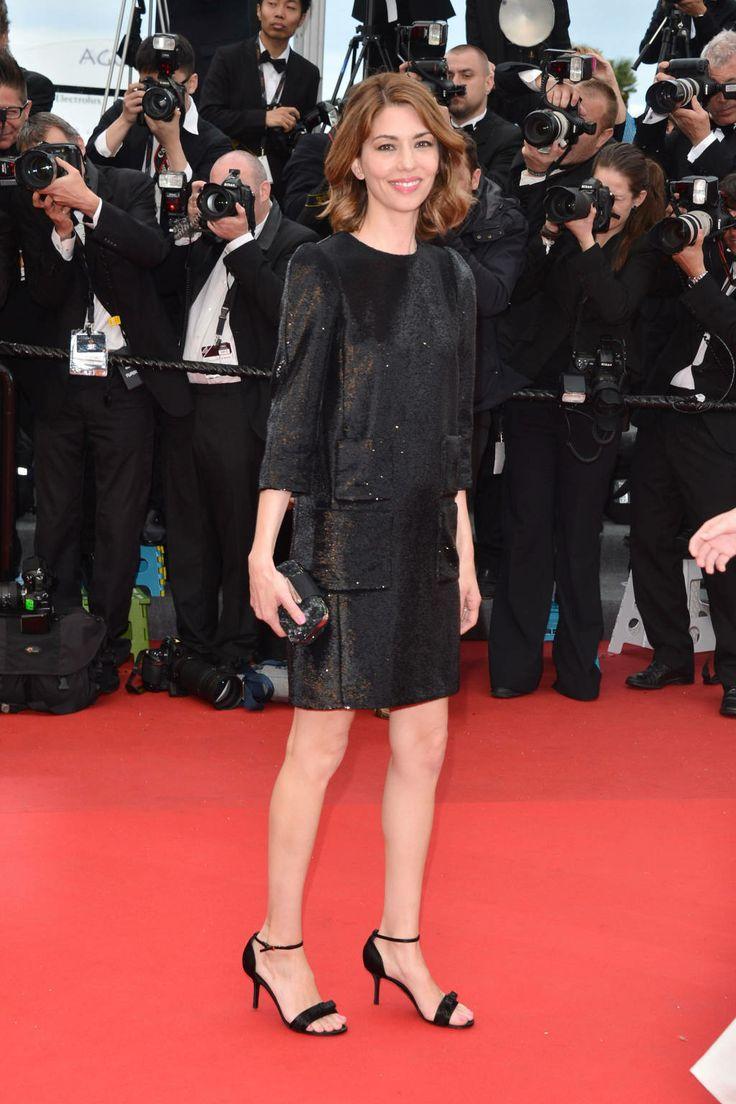 Sofia Coppola in Louis Vuitton Little Black Cocktail Dress - Best Little Black Dresses 2013 - Harper's BAZAAR