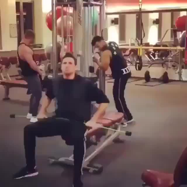 First day on the gym