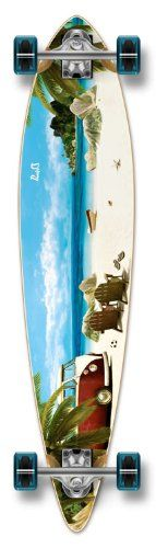 Special Graphic Complete Longboard PINTAIL skateboard w/ 70mm wheels