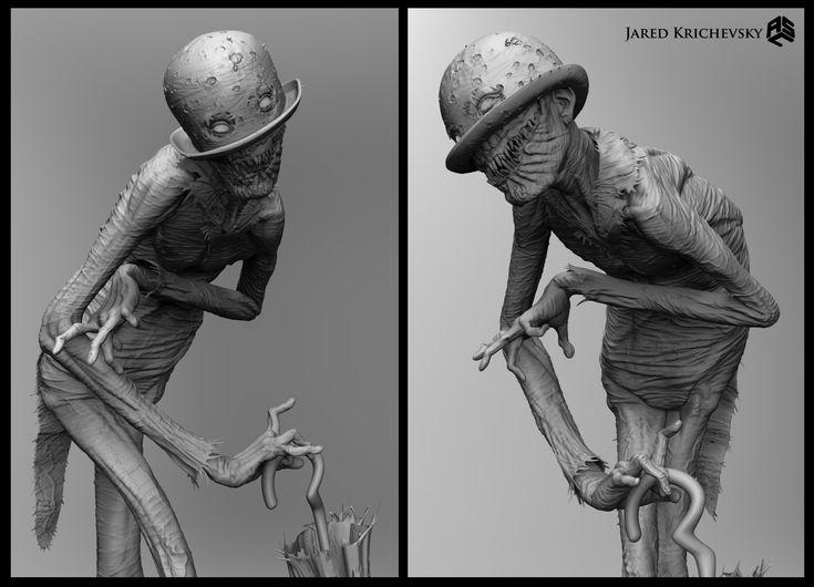 ArtStation - Conjuring 2 - The Crooked Man, Jared Krichevsky