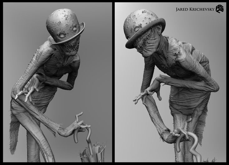 ArtStation - Conjuring 2 - The Crooked Man, Jared Krichevsky