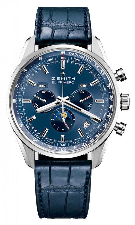 Мужские часы Zenith 03.2097.410/51.C700 El Primero New 2015 - швейцарские наручные часы, дорогие часы
