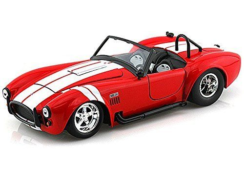 Big Time Muscle 1965 Shelby Cobra PRO STOCK 1/24 Red   Jada Toys Diecast. #Time #Muscle #Shelby #Cobra #STOCK #Jada #Toys #Diecast