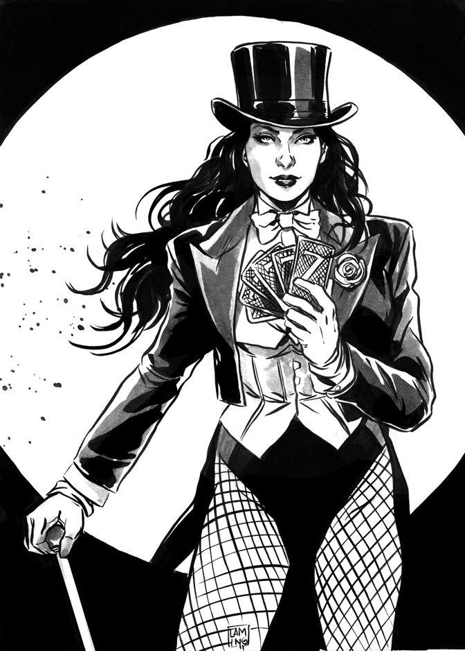 Zatanna By Marc Laming Dc Comics Wallpaper Zatanna Dc Comics Dc Comics Women