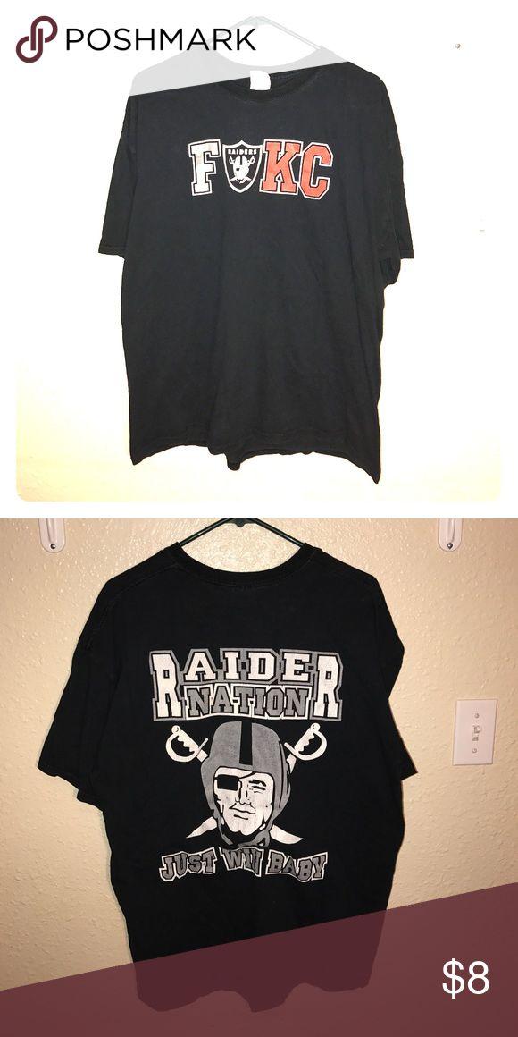 Raider Nation Shirt FUKC Raider Nation shirt. Barely Worn. Gildan Shirts Tees - Short Sleeve