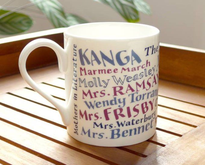 Mothers In Literature Mug – Writers Write