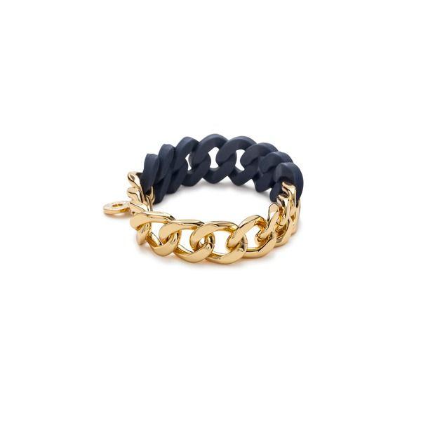 Rubber chain bracelet