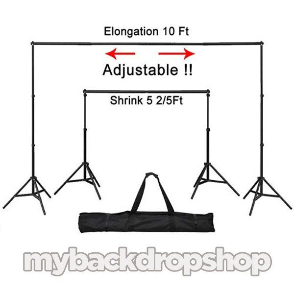Photography Backdrop Stand WITH CLAMPS  by MyBackdropShop on Etsy, $44.99