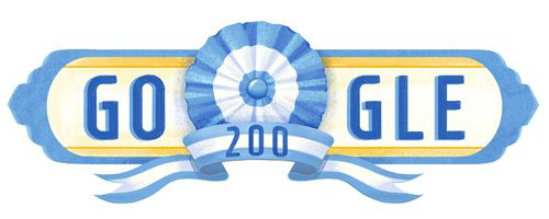 Argentina National Day 2016  Date: July 9 2016  Happy 9 de julio Argentina!  Today is Argentina's Independence day which is celebrated every year on July 9th. 200 years ago Argentina signed a Declaration of Independence from the Spanish monarchy and a pact to enter into nationhood as one people regardless of origin. Today's doodle is a symbol of Argentine nationalism: the escarapela. Argentines around the world will sport this ribbon proudly on their chest today which matches the blue and…