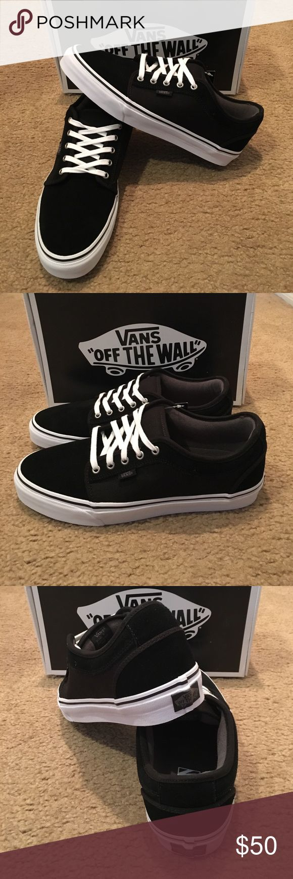 Vans Chukka Low New in box. Black/pewter/white Vans Shoes Sneakers
