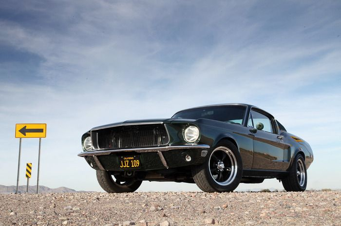 Steve McQueen 1968 Mustang: First Cars, Muscle Cars, 1968 Ford, Mcqueen Mustang, Ford Mustang, Bullitt Mustang, Movie Cars, Favorite Movie, 1968 Mustang