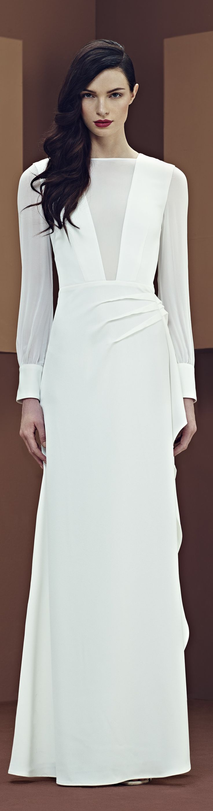 Rosamaria G Frangini | White Desire | Elisabetta Franchi.