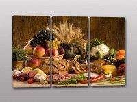 quadri moderni cucina cibo