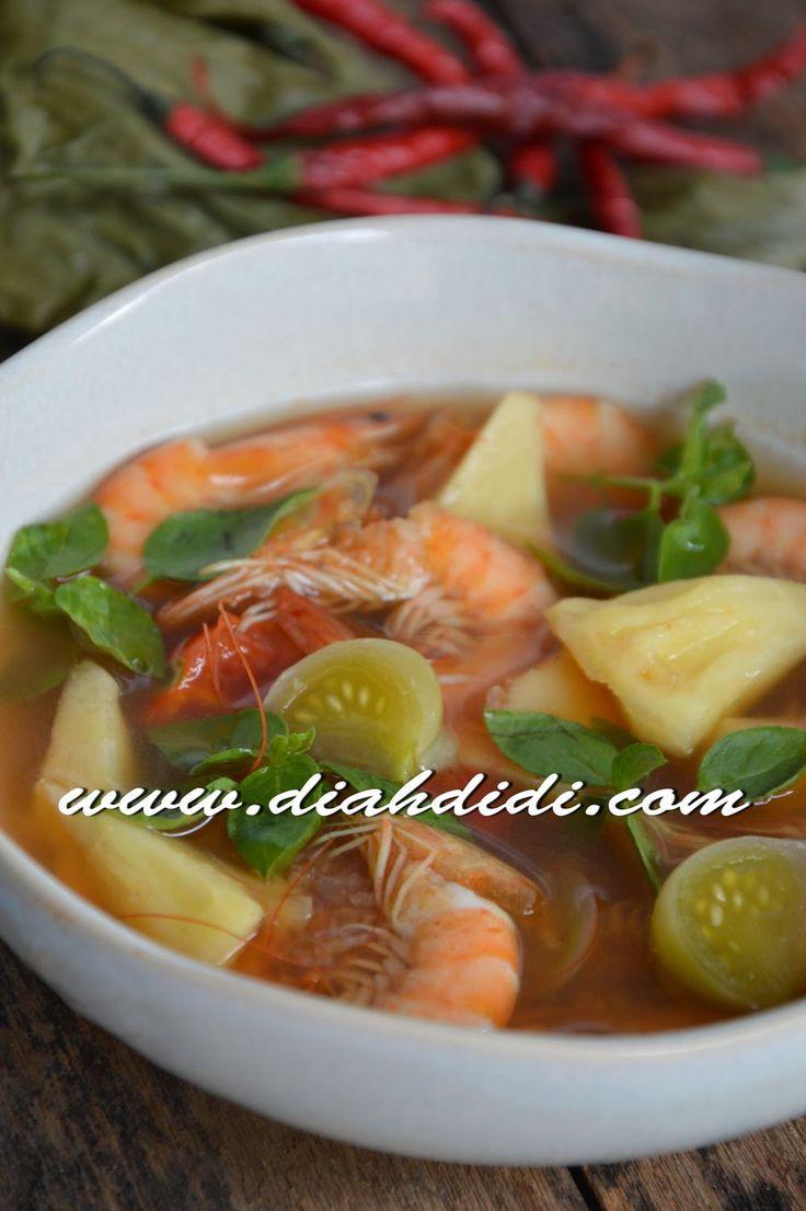 Diah Didi's Kitchen: Pindang Udang Palembang