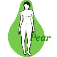 The shape: Pears populate the roster of bombshell beauties, from Alicia Keys to Jennifer Love Hewitt. As the name of this body type implies, pears are proportionally smaller on top, easily pack weight onto their lower bodies, and have a hard time toning their arms and shoulders. A pear often becomes obsessed with whittling down her lower body. Yep thats me...