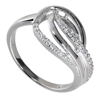 Fraser Hart Level G 9ct White Gold 015 Carat Diamond Ring