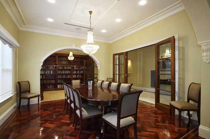 Formal Dinning Room Of Art-deco/ Pr-war Melbourne-style Home. Ravida- Property With Distinction