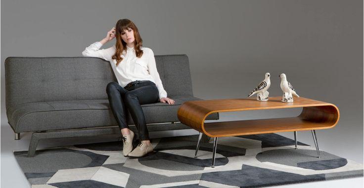 Yoko Sofa bed in cygnet grey   made.com