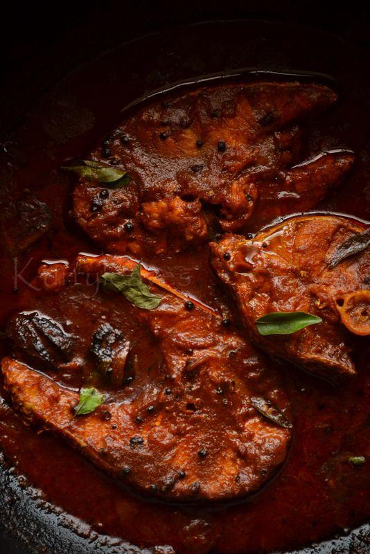 Kerala Fish Curry- Meen Mulakittathu.