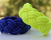 Nantucket Turk's Head Sailor's Knot 550 Paracord Survival Strap Bracelet    reminder because i always forget how to make these continuous braid things