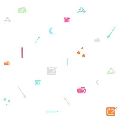 pattern, graphic design. illustration. art supplies