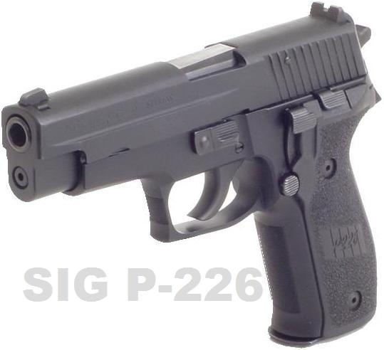 Sig Sauer P-226 .40 Cal. My next :) Find our speedloader now!  http://www.amazon.com/shops/raeind