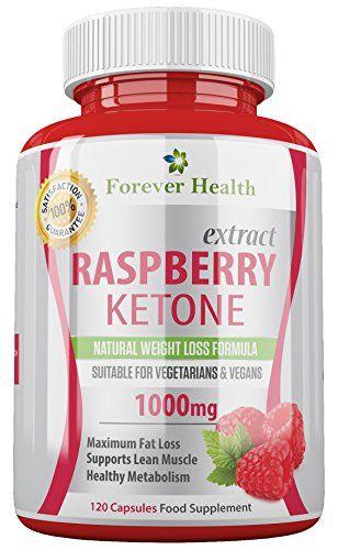 Cétone Framboise PURE Raspberry Ketone TRES FORTE 1000mg * LIVRAISON GRATUITE * 120 x Pilule De Régime – Perdez jusqu'à 4.5 Kilos en 4…