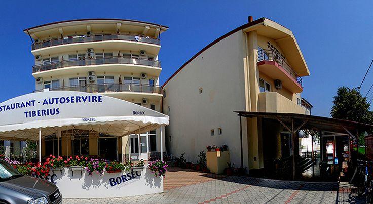 Hotel Tiberius Costinesti sejur 6 nopti cazare cu mic dejun in camera dubla cu aer conditionat, tv+cablu, frigider, balcon, internet.