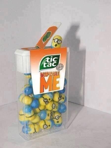 Tic Tac Minions.