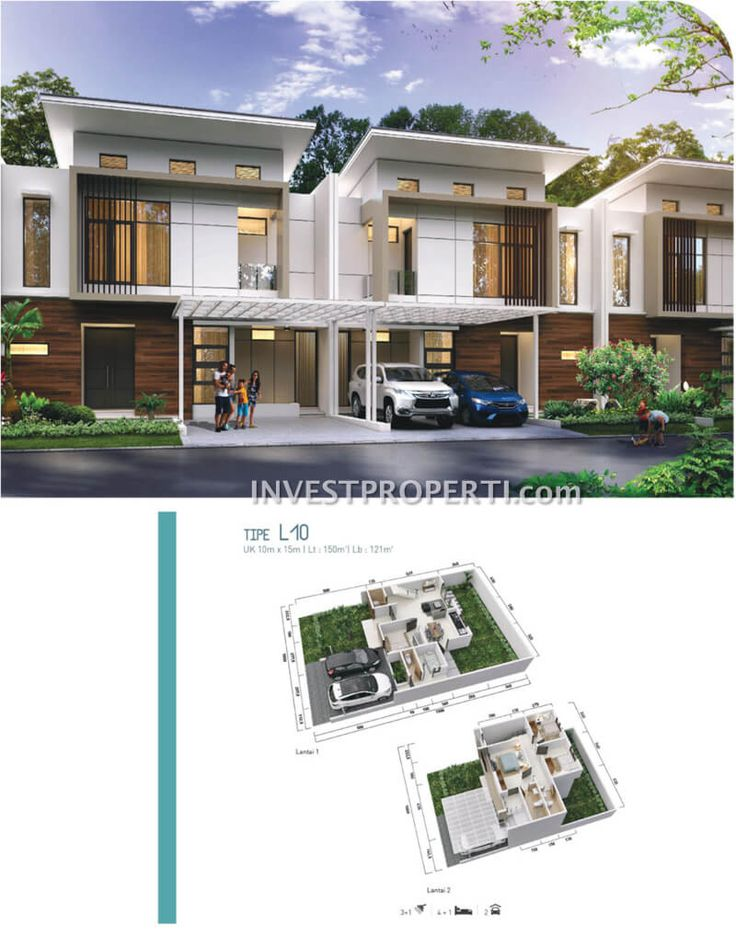 Rumah cluster Shinano Jakarta Garden City #RiverGarden