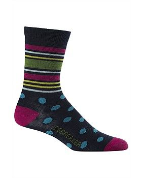 The Icebreaker Lifestyle Ultralight 3Q Crew sock has a mixuture of Merino wool and nylon. These two fabrics together will make sure your feet are always at a happy temperature. This stylsih 3/4 spot sports sock is comfortable and breatable. Temperature regulation is a bonus and you will be able to work out with no worries at all. Buy Now http://www.outsidesports.co.nz/outdoor-sports-gifts-for-her/IB102463/Icebreaker-Lifestyle-Ultralight-3Q-Spots-Crew-Socks---Women's.html#.Vye5D3pnHpI