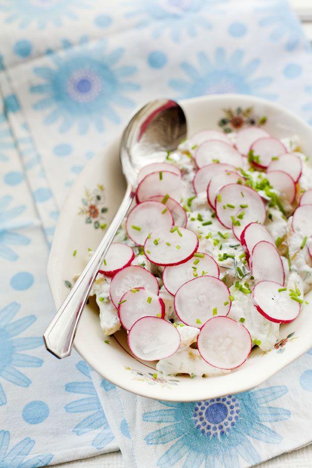 Potatissallad med rädisor  Foto: Marthaförbundet, Karin Lindroos