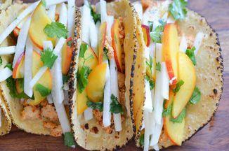 Jicama Peach Salsa Recipe on Food52 recipe on Food52