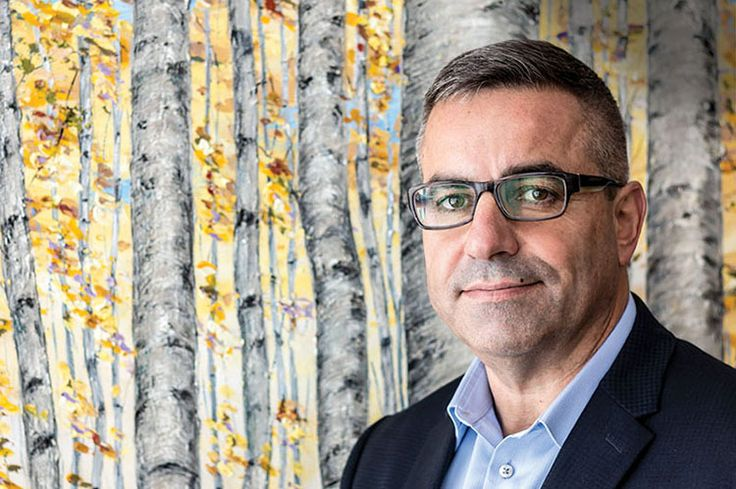 We spend the morning with Vaughan's new city manager, Steve Kanellakos It's a brisk, windy morning in May as I make my way to the fourth floor of Vaughan's City Hall to meet Steve Kanellakos, the new city manager. While it's only been a week since he's taken on the