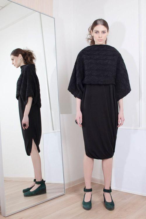 Lesel - Платье кимоно-комплект косичка