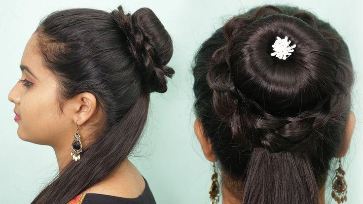 Neue erstaunliche Frisur mit einfachem Trick | Party Frisur / Funktionsfrisur