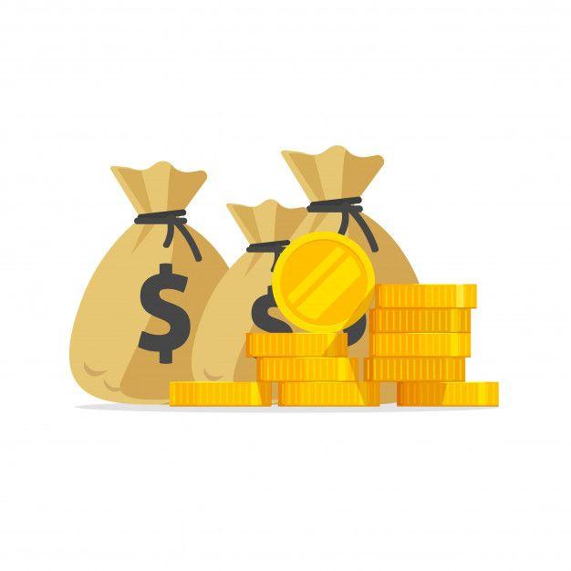 Un Monton De Dinero O Pila De Monedas De Premium Vector Freepik Vector Oro Monedas De Oro Montones De Dinero Fondo De Dinero