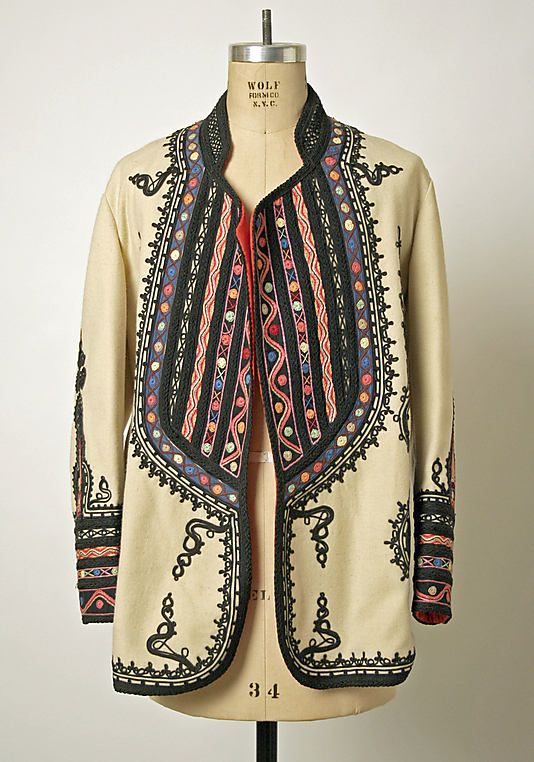 Traditional Romanian Jacket