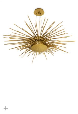 SOLEIL Suspension Light, New lighting design piece, #BRABBU, hammered brass | See more at http://brabbu.com/en/lighting/soleil-suspension-light/