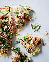 Japanese Pizza Recipe by Grant Achatz | Food & Wine #rice_recipes #pizza_recipes #sushi_rice