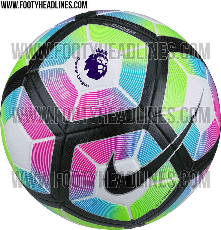 The new Nike 2016-2017 Premier League Official Match Ball introduces an extremely bold design for one of the oldest professional football leagues in the world.