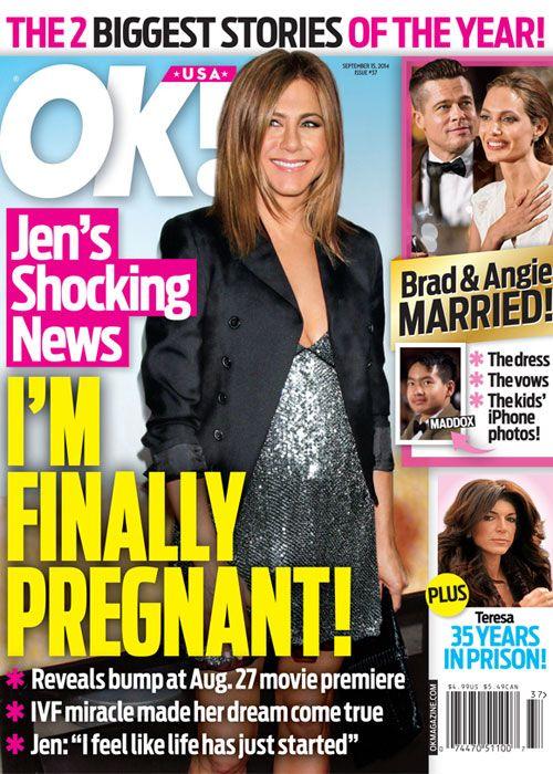 ¡Por fin! Jennifer Aniston espera a su primer bebé - Cosmopolitan