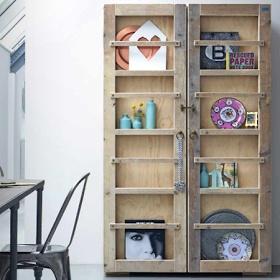 DIY Steigerhout kast- closet wood  Steigerhout!!  Pinterest