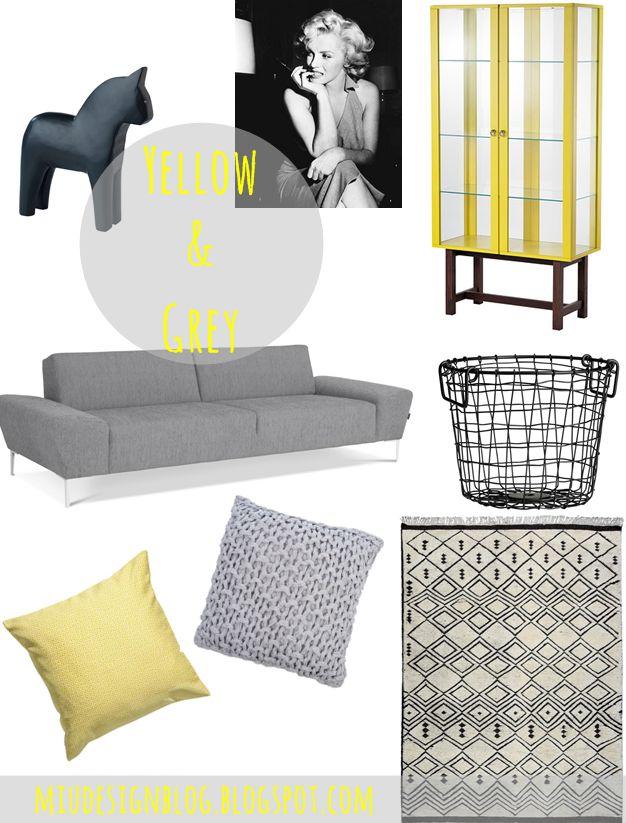 Inspiracje dla pięknego domu: kolaż z produktami ze sklepu Decolor.pl; autor: Maja Sypniewska