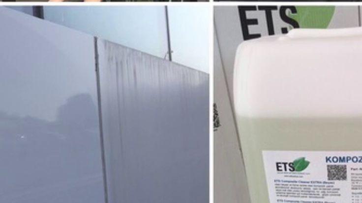 Bina Dış Cephe Kompozit Panel Temizlik Ürünü